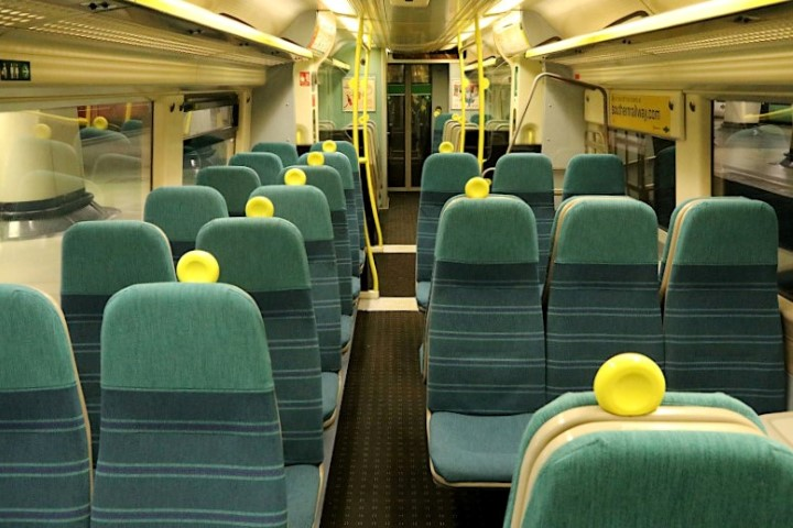 The empty Southernrail service to Ore