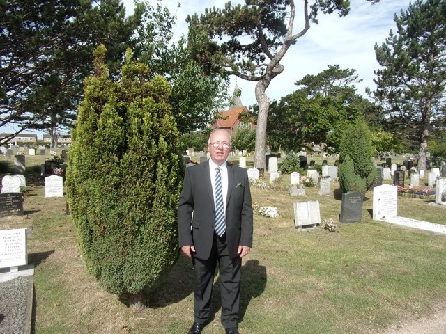 Harry at Eastbourne Cemetery