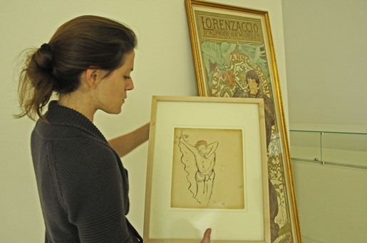 Cocteau work showed in the museum