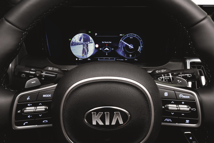 Kia digital blind spot monitor Copy