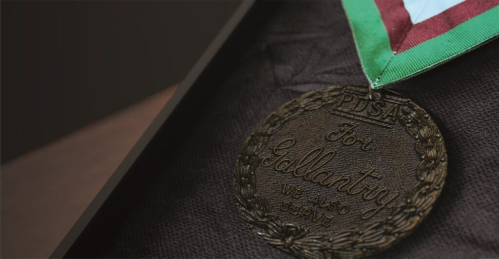Pic The Dickin Medal