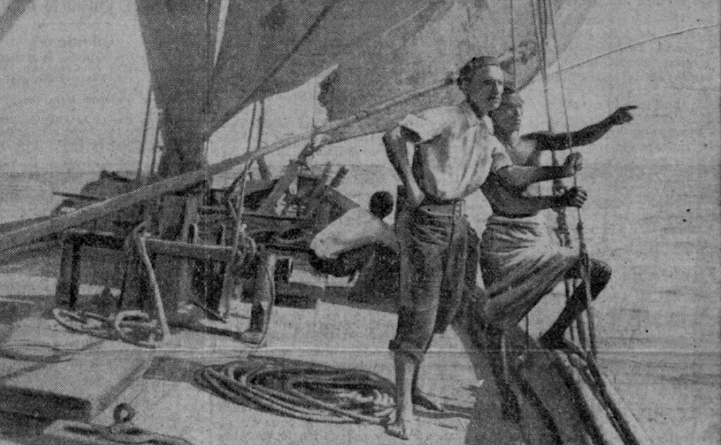 MalDia de Monfred on one of his many Red Sea voyages