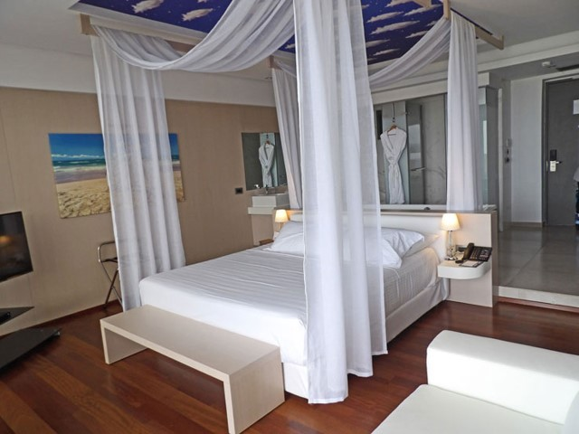 The high end luxury room of the Lesante Blue Resort