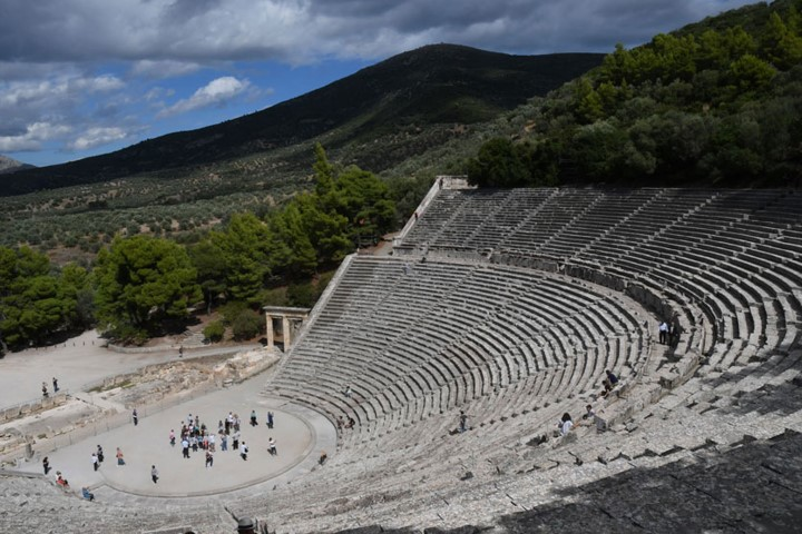 The legendary theatre of Epidauros is a not to be missed place to visit for a smart traveller