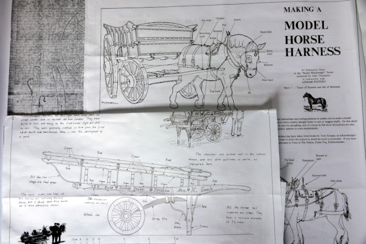Plans for a cart and horse harness