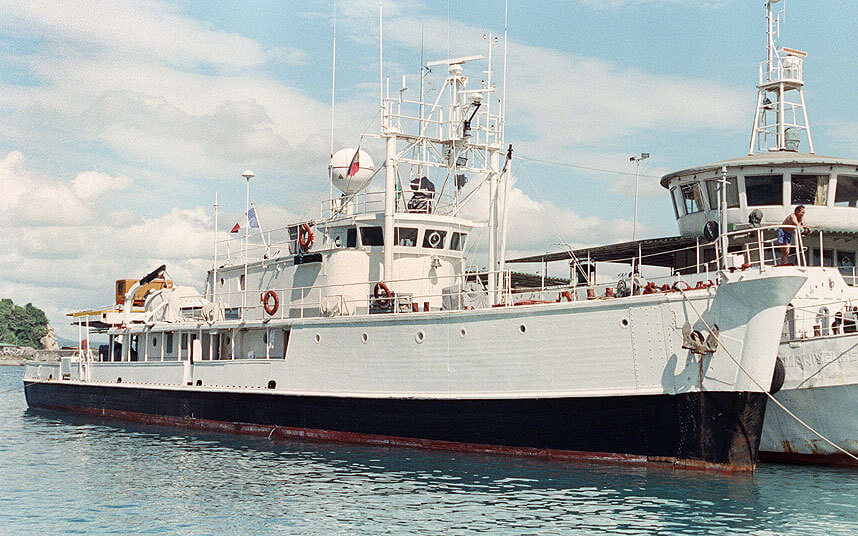 MalDia The MV Calypso in its prime named after the small island of Gozo