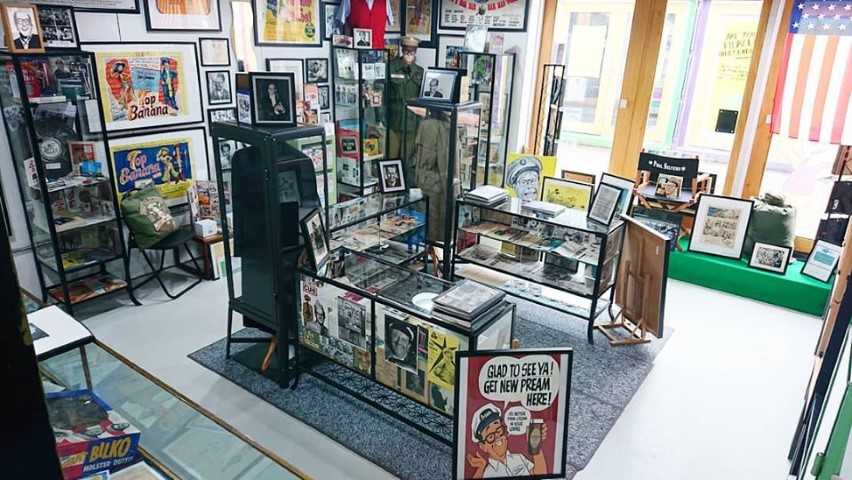 Pic The newly revamped Phil Silvers Archival Museum