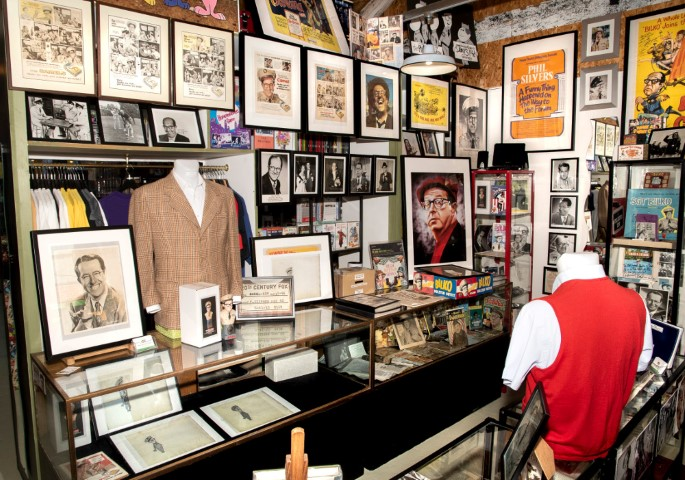 Pic A selection of Sgt Bilko items on display in the museum