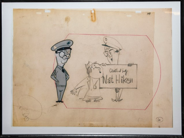 Pic An animation cell and original art work