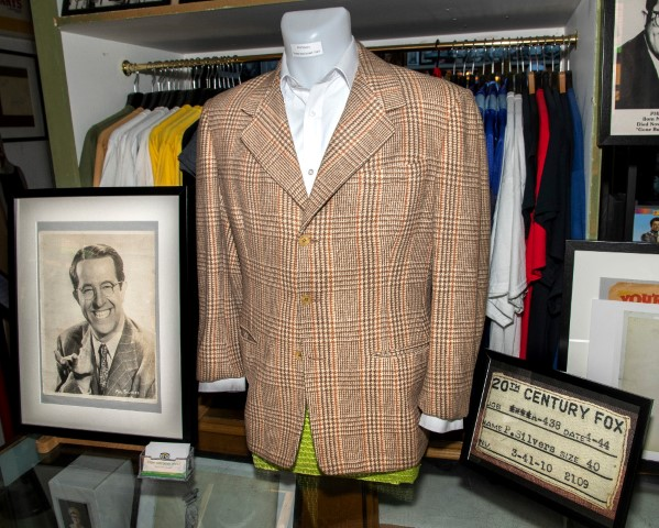 Pic Phil Silvers screen test jacket and label