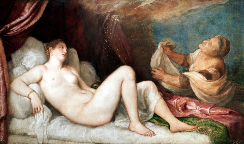 Titian Danae Wellington Collection Apsley House London Stratfield Saye Preservation Trust