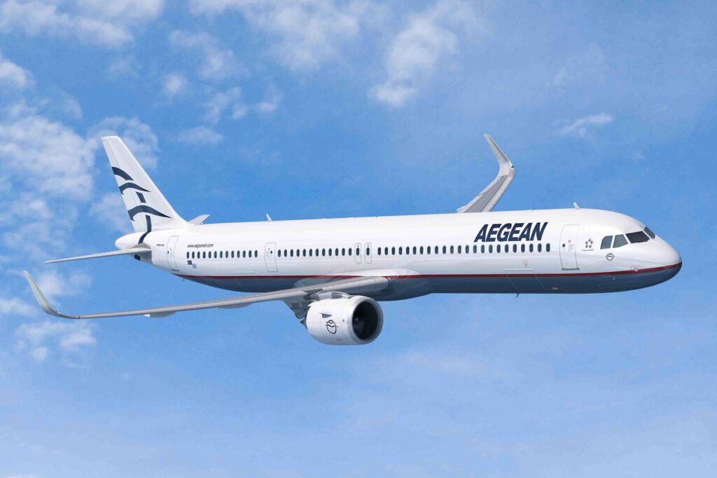 Aegean an easy way to fly to Greece
