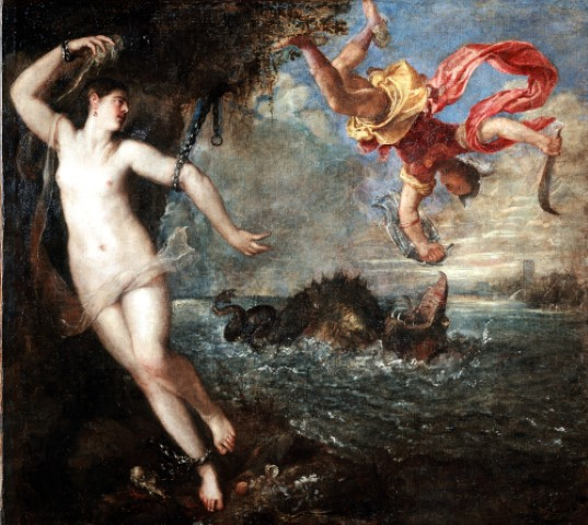 Titian Perseus and Andromedo The Wallace Collection London Photo The National Gallery London