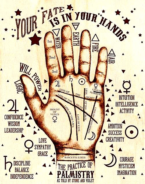 MalDia Palmistry all in the power of your hand born lucky or unlucky