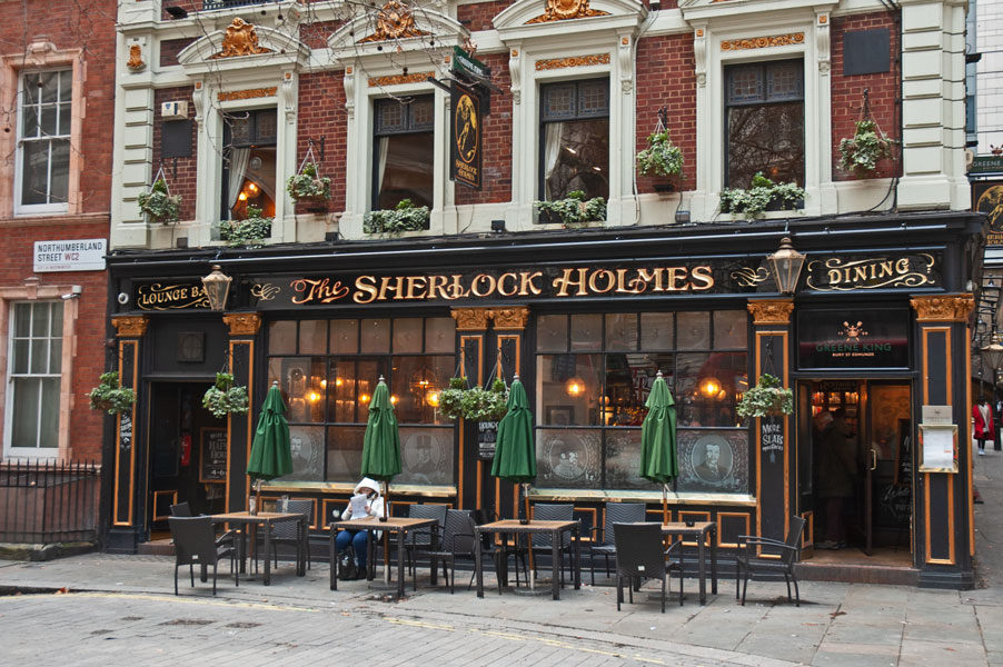 A London pub to find for Sherlocks fans
