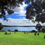 6. View of Bewl Reservoir from the picnic area beneath the cafe