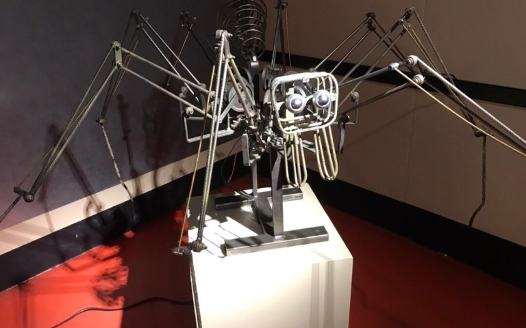 Pic ft mechanical spider by Steve Sherwin