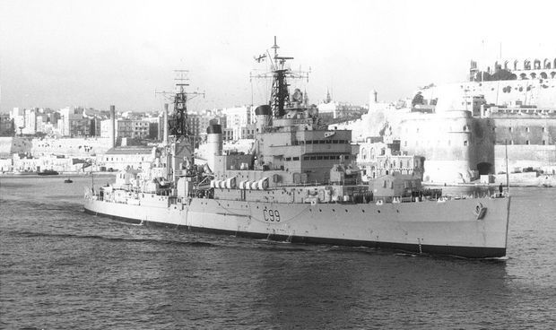 MalDia Sliema Creek used to be packed with RN frigates destroyers and mine sweepers