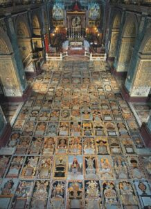 MalDia The Cathedral flooring tombs of Knights of the Order