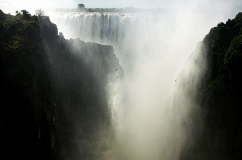 From Boiling Point looking back to the First Gorge Zambia