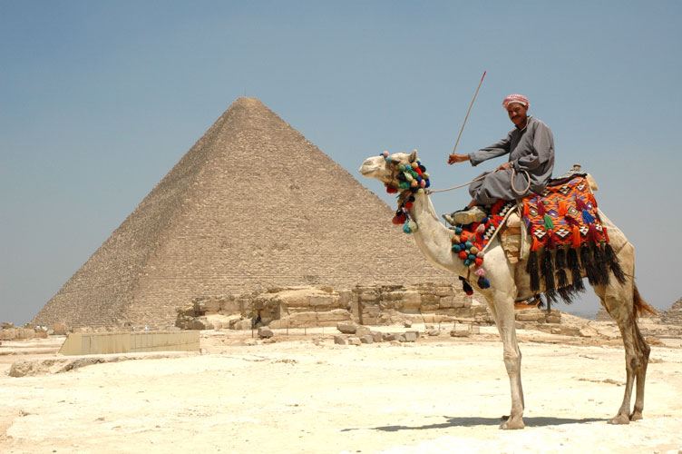Egypt at the pyramids