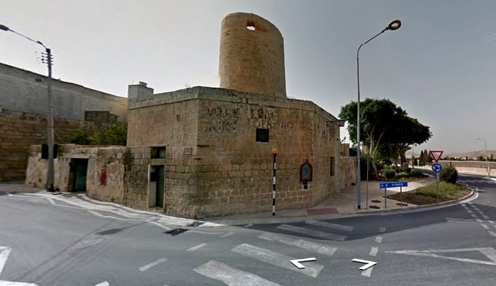 MalDia The Xewkija Windmill in Gozo the oldest and now being restored