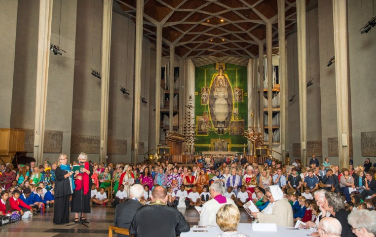Pic Peace and Reconciliation in Coventry Cathedral Photo taken prior to Covid by Rob Tysall