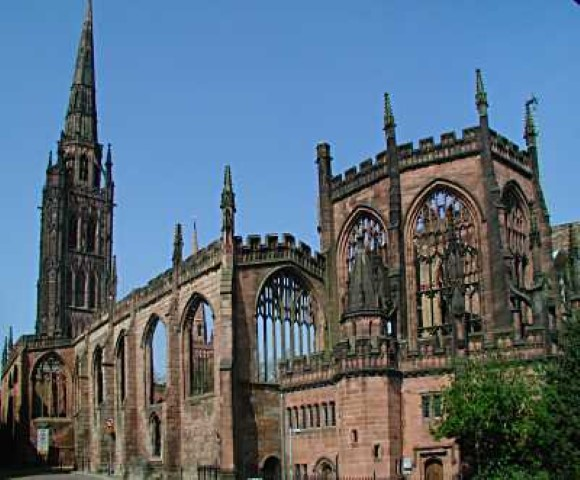 Pic Coventry Cathedral Photo by Rob Tysall