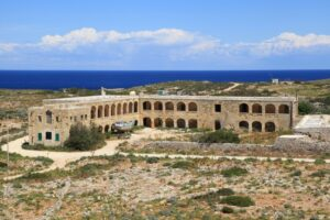 MalDia-08-16-12-20-The-barracks-on-Comino-that-for-some-time-were-used-for-quarantine-purposes