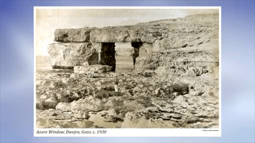 MalDia-12-22-07-20-Gozos-Azure-Window-pictured-in-1930.-Sadly-it-collapsed-two-years-ago