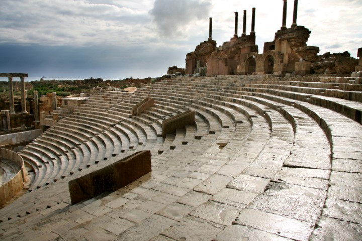 5.-The-theatres-cavea-backed-by-small-temples.