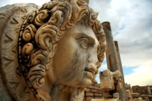 8.-A-Gorgon-head-displayed-in-the-Forum.