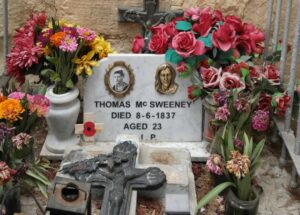 MalDia-07-12-05-21-The-resting-place-of-Private-Thomas-McSweeney-still-venerated-maintained-and-decorated