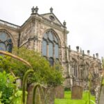 Pic 1. Rear of the Collegiate Church of St Mary Warwick. Photo by Rob Tysall 1