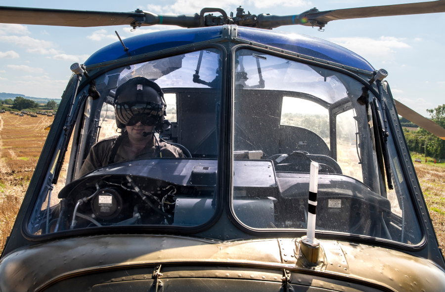 Pic-6.-Andrew-Baker-in-his-Scout-Helicopter