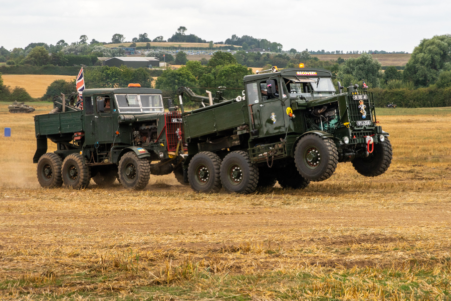 Pic-5.-Military-Scammell-trucks-in-a-Vehicle-Recovery-Exercise