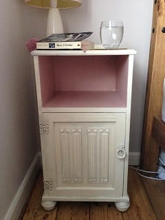 Upcycling - Bedside Table - After