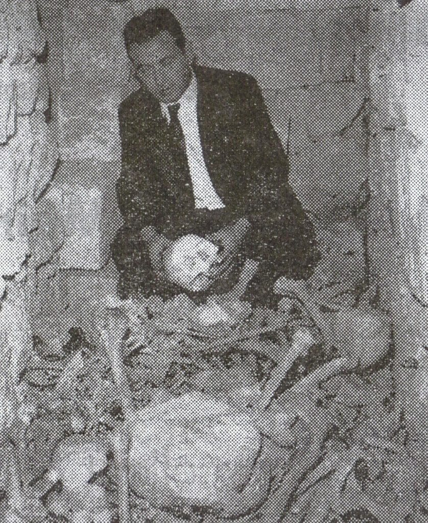 MalDia Ruben Vella who came across the secret passage and burial place years ago