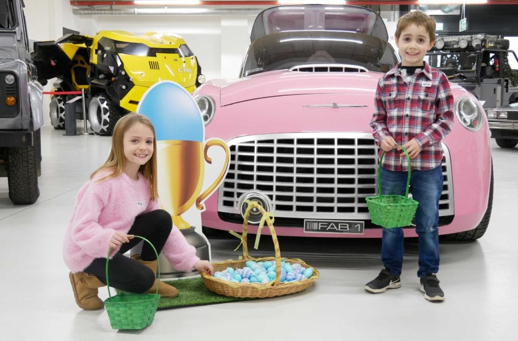 Pic Easter Egg Hunt at the British Motor Museum