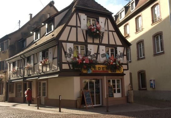 A timber house in Obernai