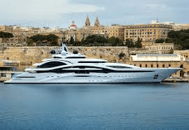 MalDia The multi millionaire luxury class of superyacht