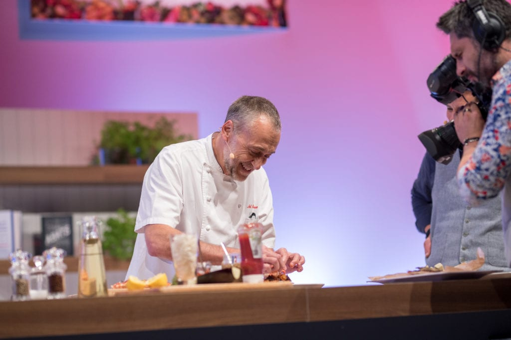 Pic Michel Roux Jr will be at this years show